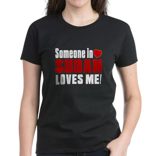 Someone In Sudan Loves Me Tee