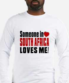 Someone In South Africa Loves Long Sleeve T-Shirt