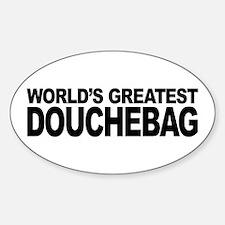 World's Greatest Douchebag Decal