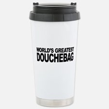 World's Greatest Douche Stainless Steel Travel Mug