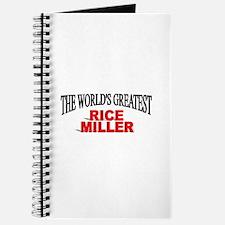 """The World's Greatest Rice Miller"" Journal"