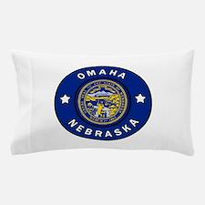 Omaha Nebraska Pillow Case