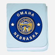 Omaha Nebraska baby blanket