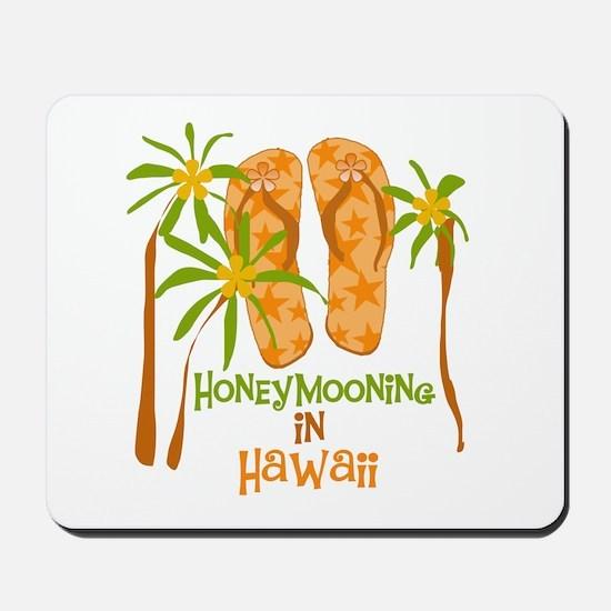Honeymoon Hawaii Mousepad