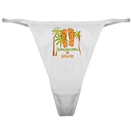 Honeymoon Hawaii Classic Thong