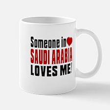 Someone In Saudi Arabia Loves Me Mug
