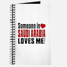 Someone In Saudi Arabia Loves Me Journal
