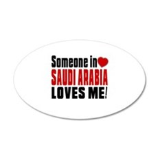 Someone In Saudi Arabia Love Wall Decal