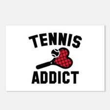 Tennis Addict Postcards (Package of 8)