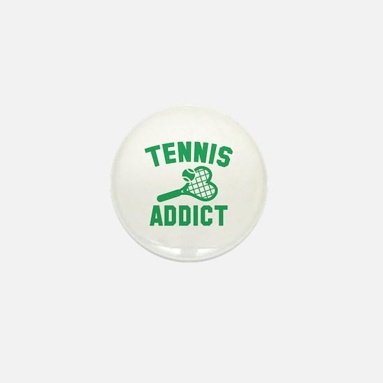 Tennis Addict Mini Button