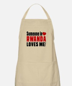 Someone In Rwanda Loves Me Apron