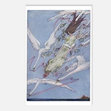 Wild Swans Postcards (Package of 8)
