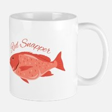 Red Snapper Fish Mugs