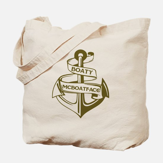 Funny Sailor Tote Bag