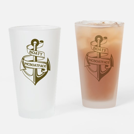Unique Funny boat Drinking Glass