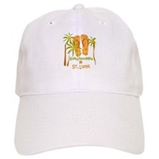 Honeymoon St. Lucia Baseball Cap