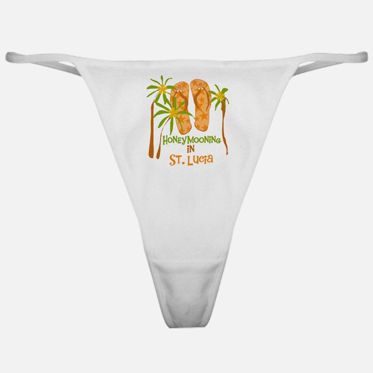 Honeymoon St. Lucia Classic Thong