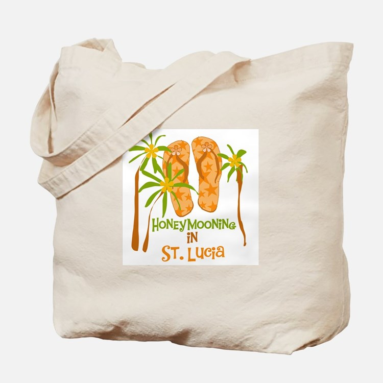 Honeymoon St. Lucia Tote Bag