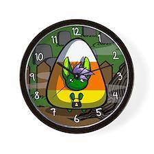 Candycorn Neekksy Wall Clock