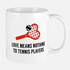 Love Means Nothing Small Small Mug