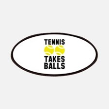Tennis Takes Balls Patches