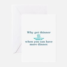 Why Get Thinner Greeting Cards (Pk of 20)