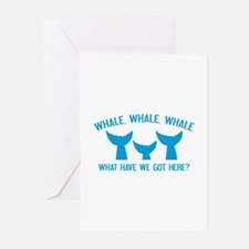 Whale Whale Whale Greeting Cards (Pk of 10)