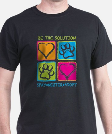 Be The Solution Squares T-Shirt