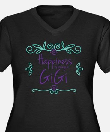 Happiness is Plus Size T-Shirt