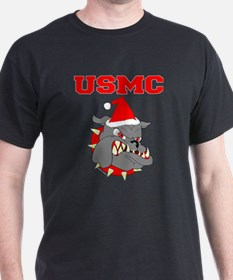 Devil Dog Christmas T-Shirt