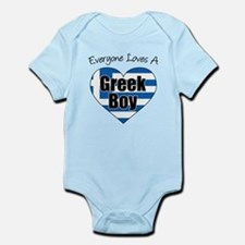 Everyone Loves A Greek Boy Body Suit