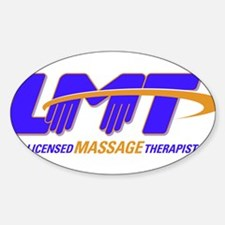 LMT Licensed Massage Therapist Decal