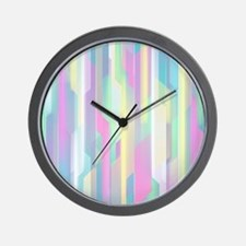Abstract Colorful Pattern Wall Clock