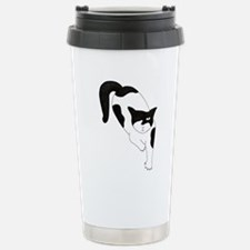 one eyed cat Stainless Steel Travel Mug