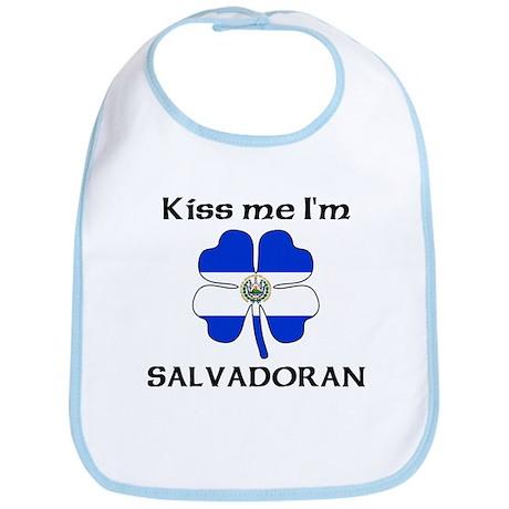 Kiss Me I'm Salvadoran Bib