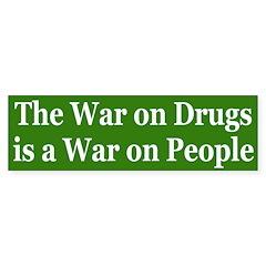 War on Drugs (bumper sticker)