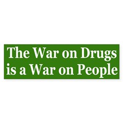 War on Drugs (bumper sticker)