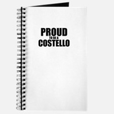 Proud to be COSTELLO Journal