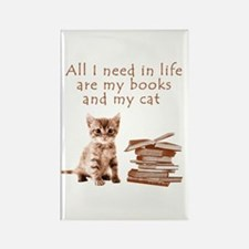 Cats and books Magnets