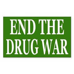 End the Drug War (bumper sticker)