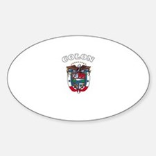 Colon, Panama Oval Decal