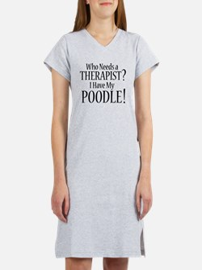 THERAPIST Poodle T-Shirt