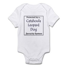 Catahoula Security Infant Bodysuit