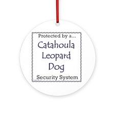 Catahoula Security Ornament (Round)