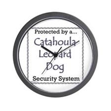 Catahoula Security Wall Clock