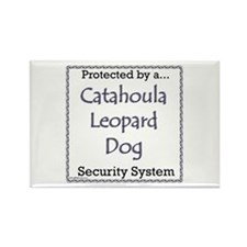 Catahoula Security Rectangle Magnet