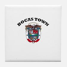 Bocas Town, Panama Tile Coaster