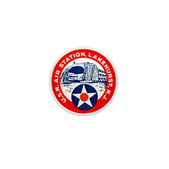 USN Air Station Mini Button (100 pack)