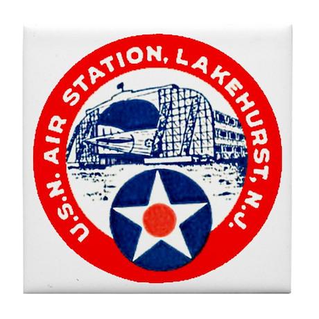 USN Air Station Tile Coaster