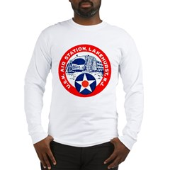 USN Air Station Long Sleeve T-Shirt